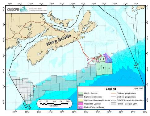 Offshore Map